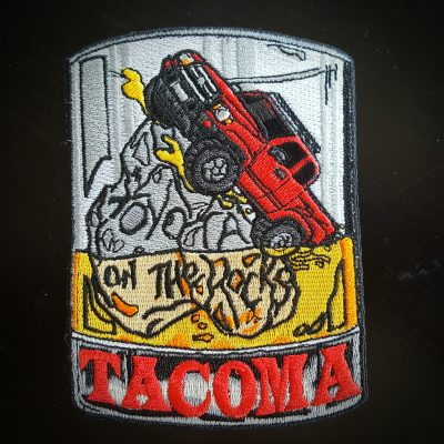 Toyota Themed Patches